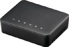 Networkswitch 100Mbps 5-port