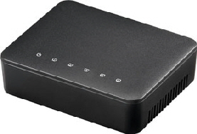 Networkswitch 1Gbps 5-port